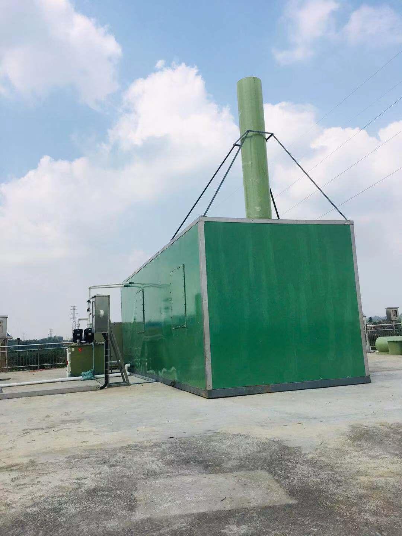广东某项目,生物除臭系统-湖北灏瑞达环保能源科技有限公司